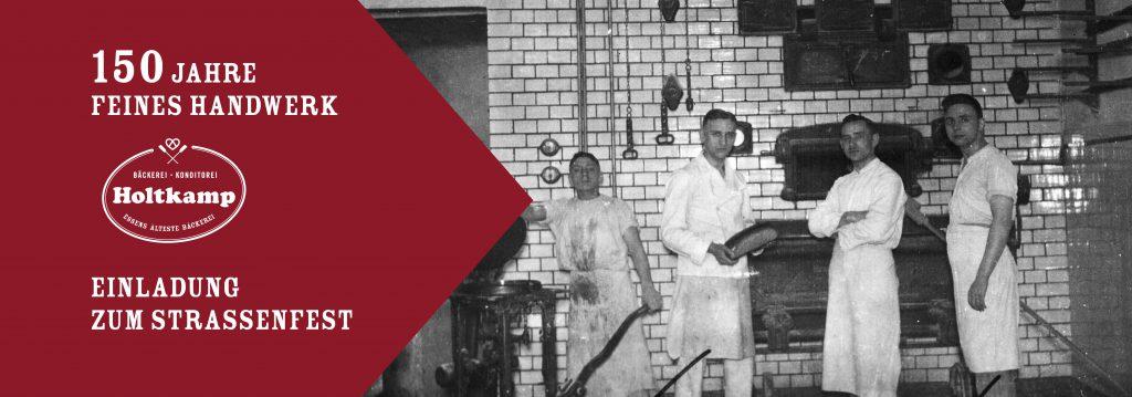150 Jahre feines Handwerk - Bäckerei Konditorei Holtkamp Essen
